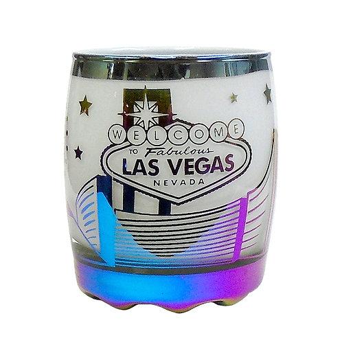 Wide Las Vegas Star Shot Glass