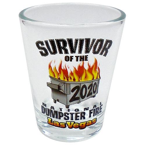 Survivor 2020 Shot Glass