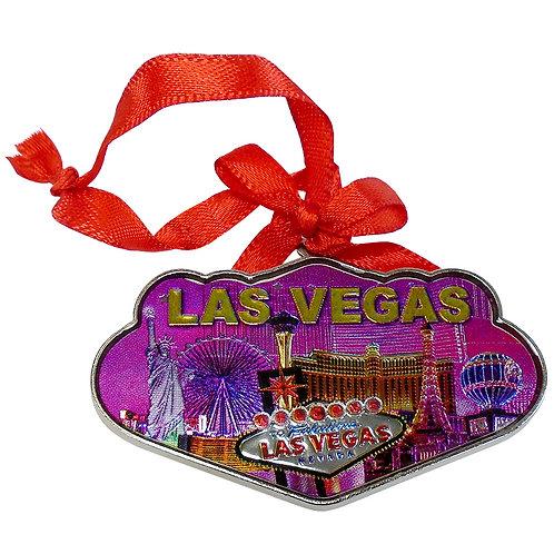 Las Vegas Hotels Tree Ornament