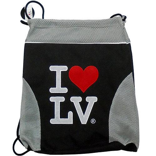 I Love LV Athletic Bag