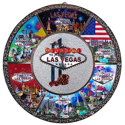 Las Vegas Metal Plate