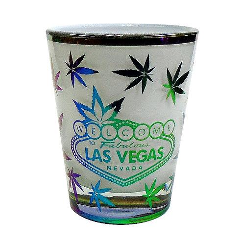 Las Vegas Leaf Shot Glass
