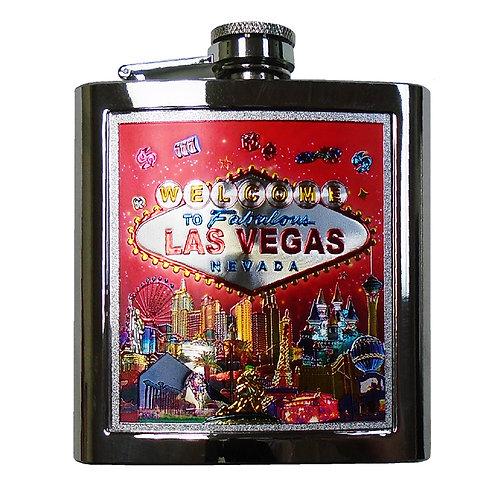 LV Strip Red Flask