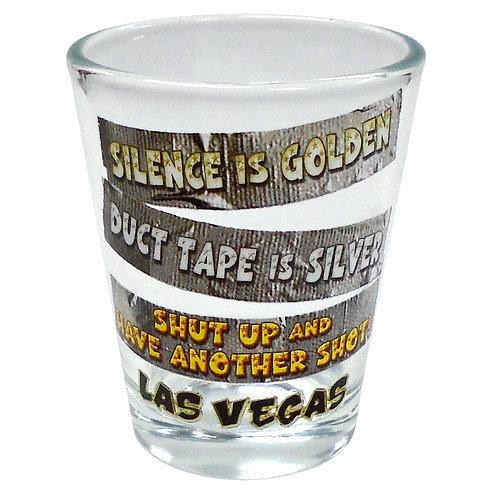 Duct Tape Las Vegas Shot Glass