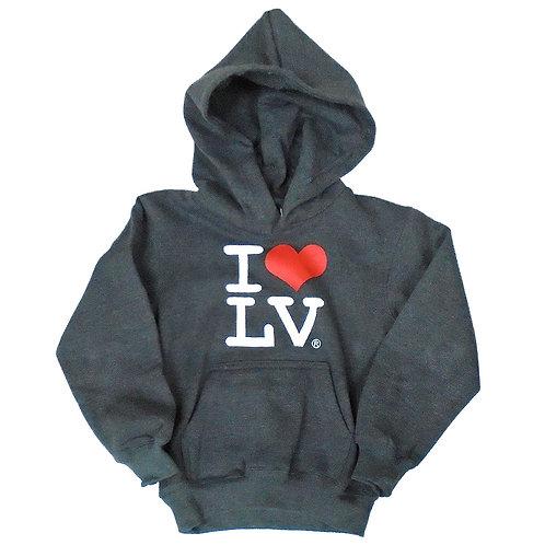 I Love LV Kids Hoodie