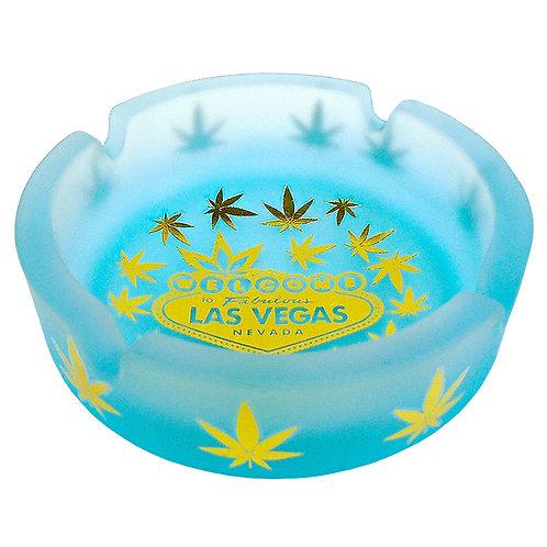 Blue Las Vegas Ash Tray