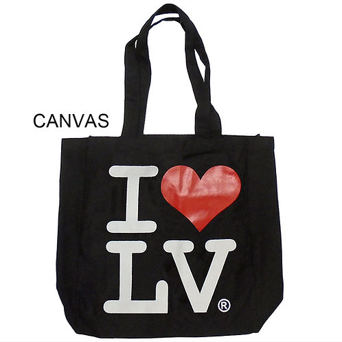 I Love LV Canvas Bag