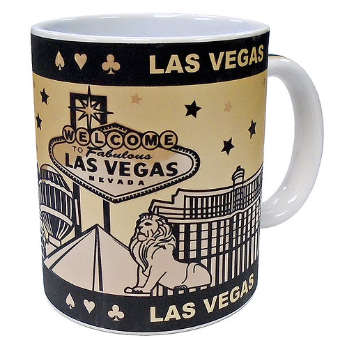 LV Hotels Graphic Mug
