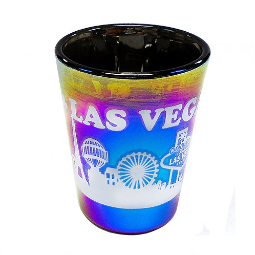 Rainbow LV Shot Glass