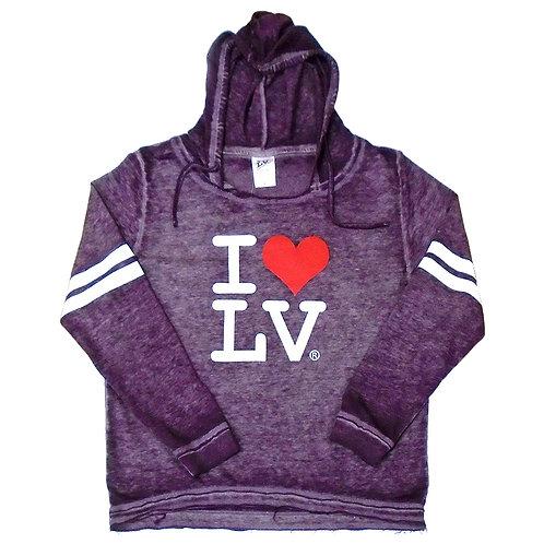 I Love LV Ladies Hoodie