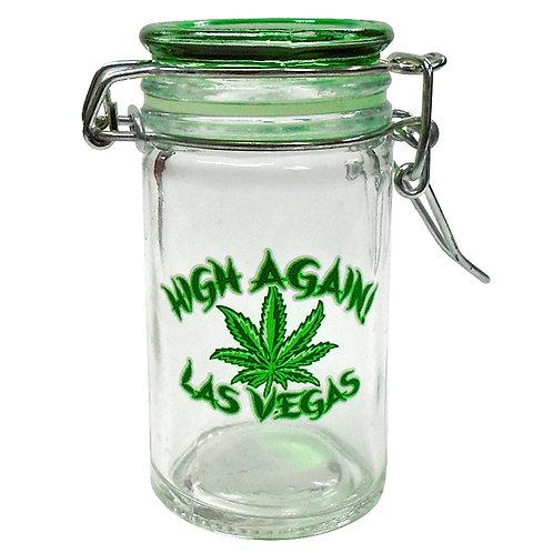 Small Cannabis Jar