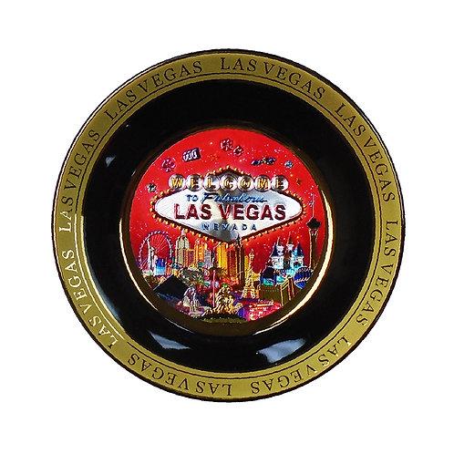 LV Red Ceramic Plate