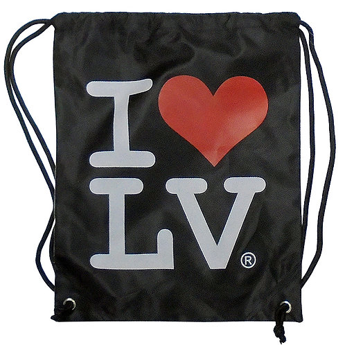 I Love LV String Bag