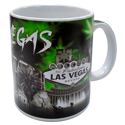 Green Las Vegas Mug