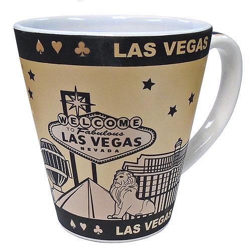 LV Hotels Graphic Cone Mug
