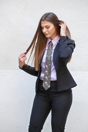 Marina in Collection By Kamales shirt - LILAC