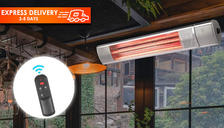 Electric Wall Mounted Infrared Heater With Remote Control