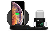 3-in-1 Wireless Charging Station - Apple & Android Compatible