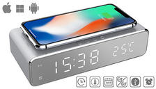 2-in-1 LED Alarm & Wireless Charging Station - 1 or 2-Pack