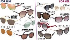 Mystery Designer Sunglasses For Him or Her - Cartier, Prada, Chanel, Dior, Tom Ford & More!