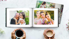 20cm x 20cm Hardcover Photobook - 20, 40, 60 or 100 Pages