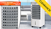 60W Arctic Power 4L Oscillating Air Cooler