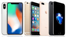 iPhone 6, 6S, 7, 8 or X - 5 Colours & 4 Storage Options