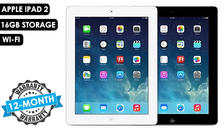 Apple iPad 2 16GB or 32GB with Wi-Fi - 2 Colours