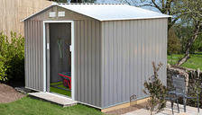 Metal Garden Shed - 3 Colours & 2 Sizes