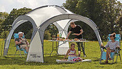 Large Dome Garden Shelter With Sunshade Walls - 12ft or 13ft