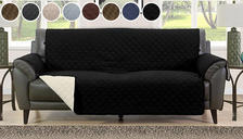 Quilted Sofa Furniture Water-Resistant Protector - 8 Colours & 3 Sizes