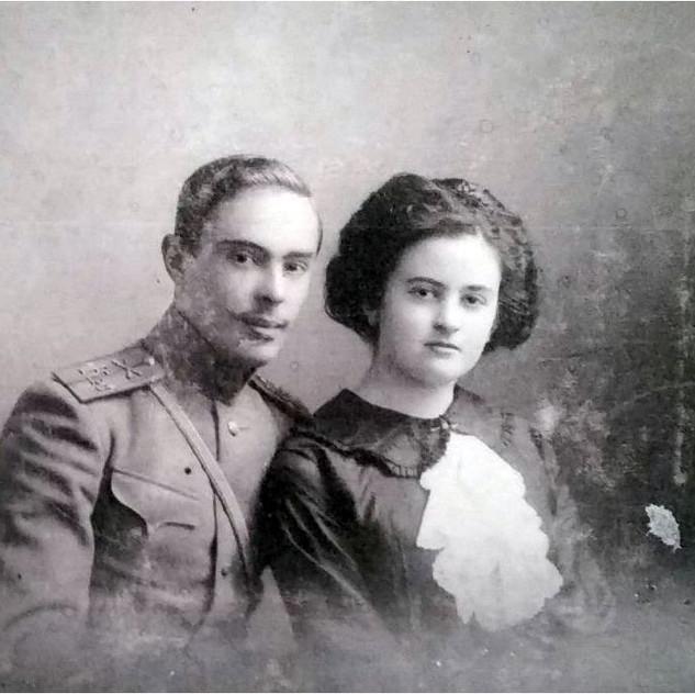 Родители Валентины Сутеевой