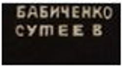 Бабиченко Дмитрий, Сутеев Владимир