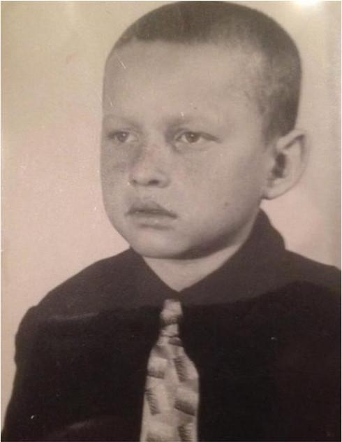 А. Улымов в детстве