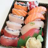 Rainbow Roll Nigiri Combo