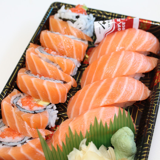 Lady in Pink Nigiri Combo