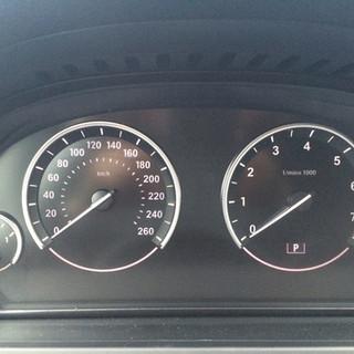 BMW F01 spidometras