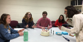 Mary's birthday festivities