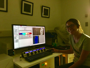 Mary's first ever immunohistochemistry result! And the results were a pleasant surprise!