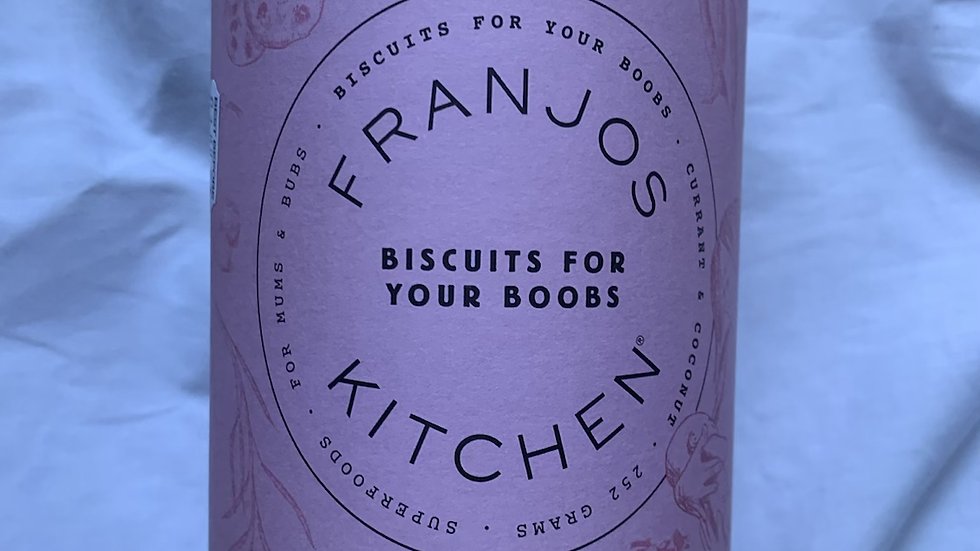 Franjo's Lactation cookies
