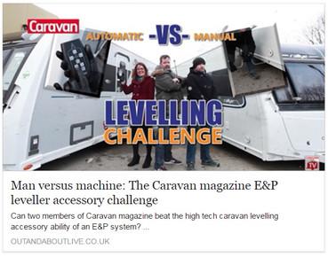 The Caravan magazine E&P leveller accessory challenge