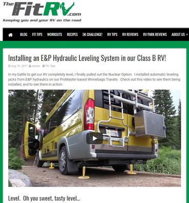 E&P Hydraulics level systems in North America!