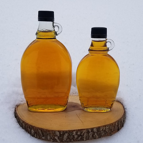 Pure Maple Syrup - Glass Bottle