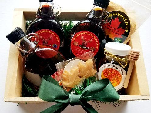 Maple and Honey Gift Box