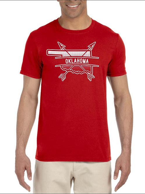 Oklahoma Arrow Red Shirt