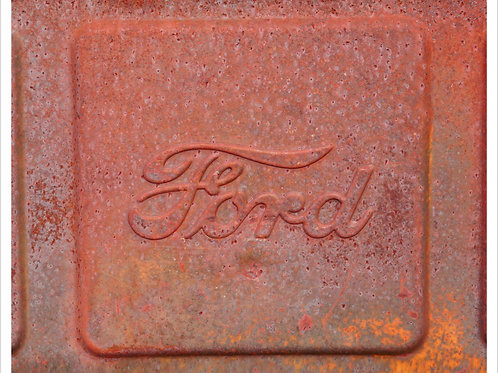 Ford Tailgate Panel Matted 8 x 10 Print