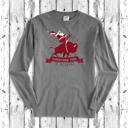 Buffalo Santa Long Sleeve Shirt
