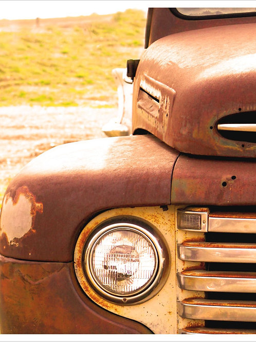 Ford Truck Matted 8 x 10 Print