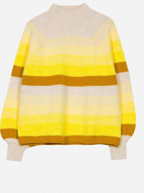 Jersey rayas amarilla