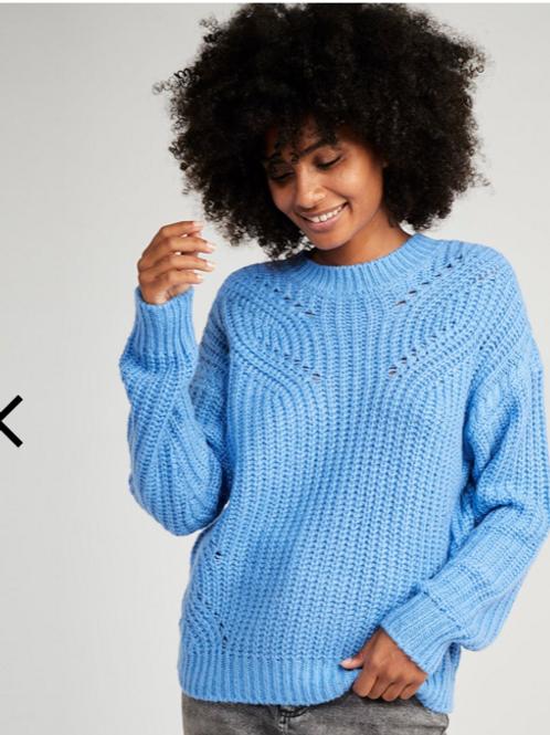 Jersey lana azul